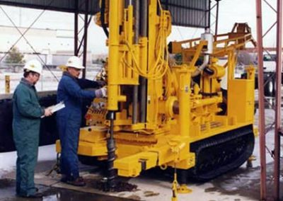 CME 55LCX High Torque, Low Clearance Hollow Stem Auger Rig.