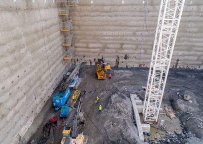 Subterranean drilling, Seattle.